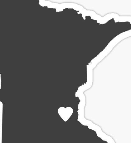 Minnesota Charcoal Sticker