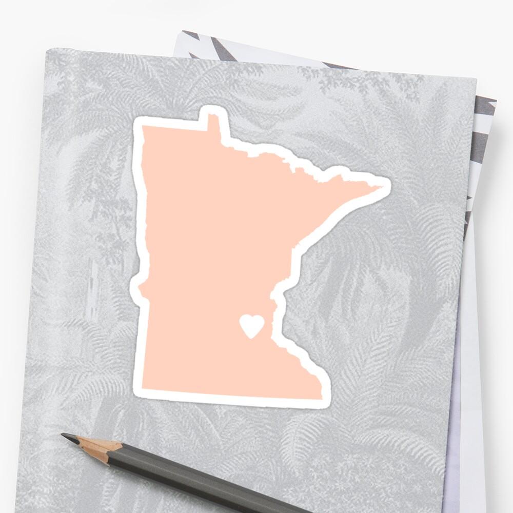 Minnesota Peach by Maren Misner