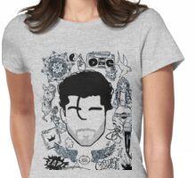 Zayn Malik Tattoos Womens Fitted T-Shirt