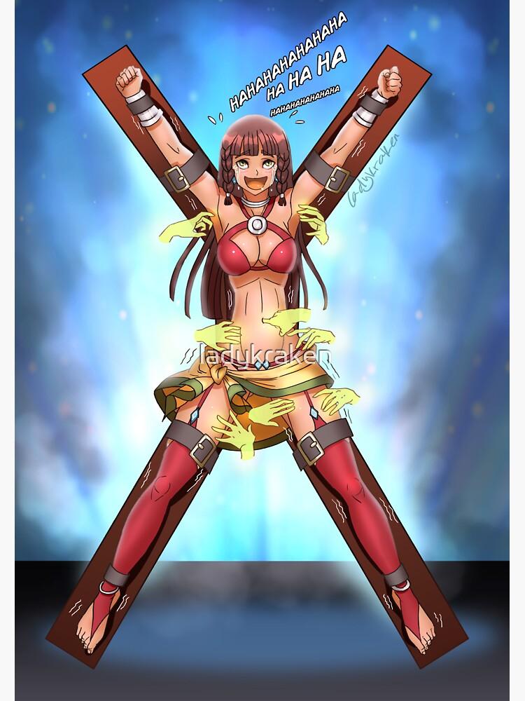 Anime Girl Tickles by ladykraken