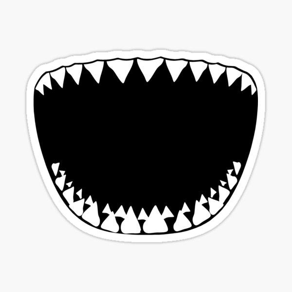 Shark Bite! Sticker
