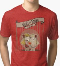 Don't Starve- Wendy and Abigail Tri-blend T-Shirt