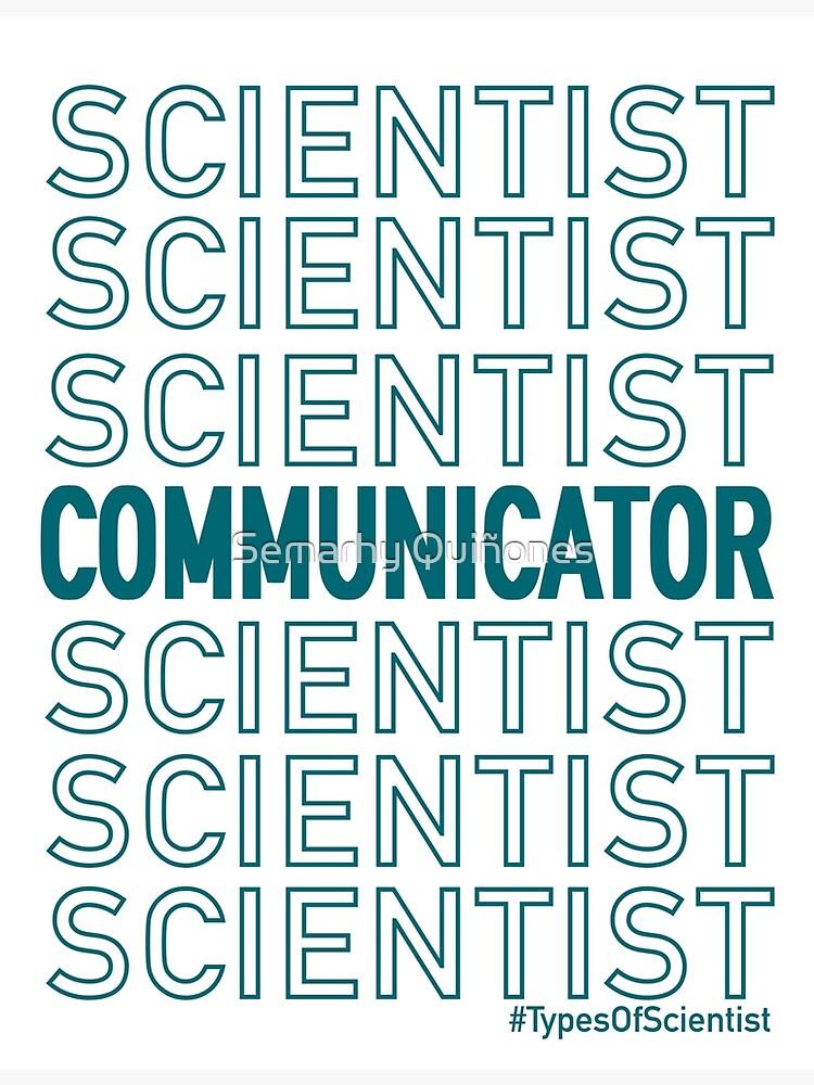 Science Communicator by semarhy