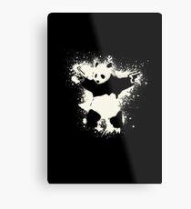 Bansky Panda Impression métallique