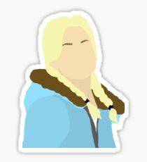 Jess Until Dawn - Minimalism Sticker