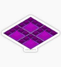 Ziggurat Glyph 08 Sticker