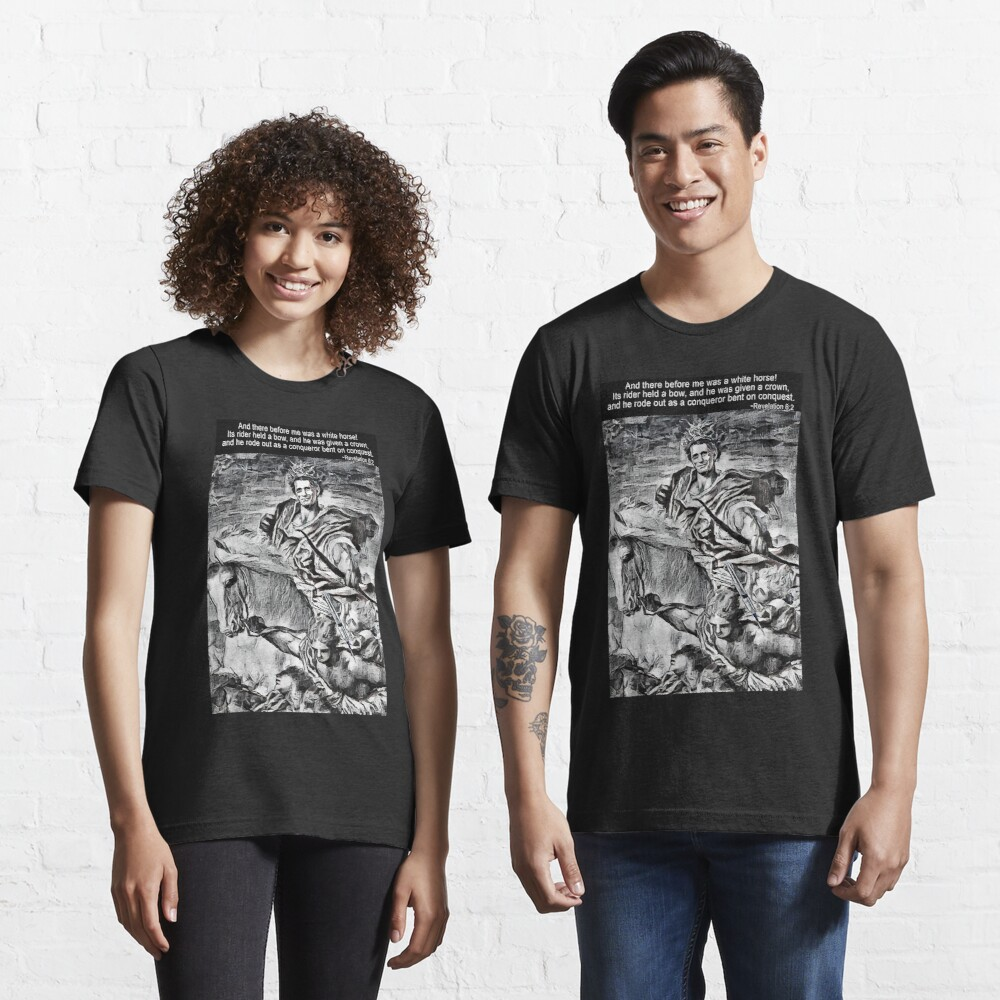 The White Horse of the Apocalypse Essential T-Shirt