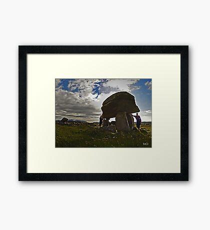Kilclooney Dolmen, County Donegal Framed Print