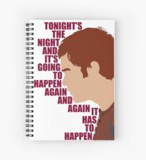 Dexter - Tonight's the Night Spiral Notebook