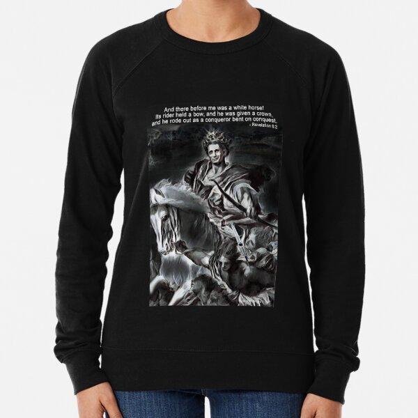 White Horse of the Apocalypse Lightweight Sweatshirt