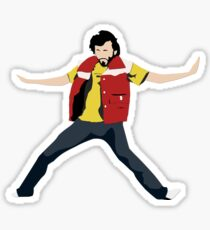 Flight of the Conchords - Bret's Angry Dance Sticker