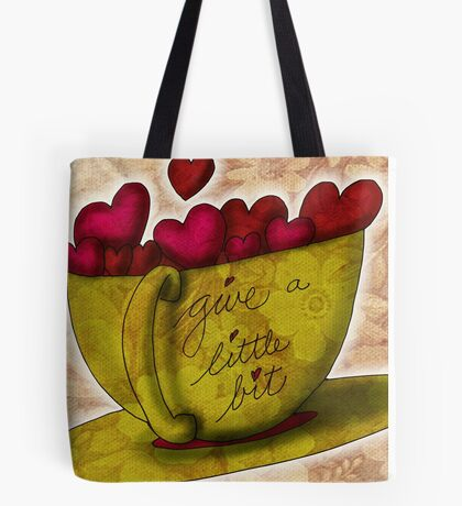 What my Coffee says to me -  June 28, 2012 Tote Bag