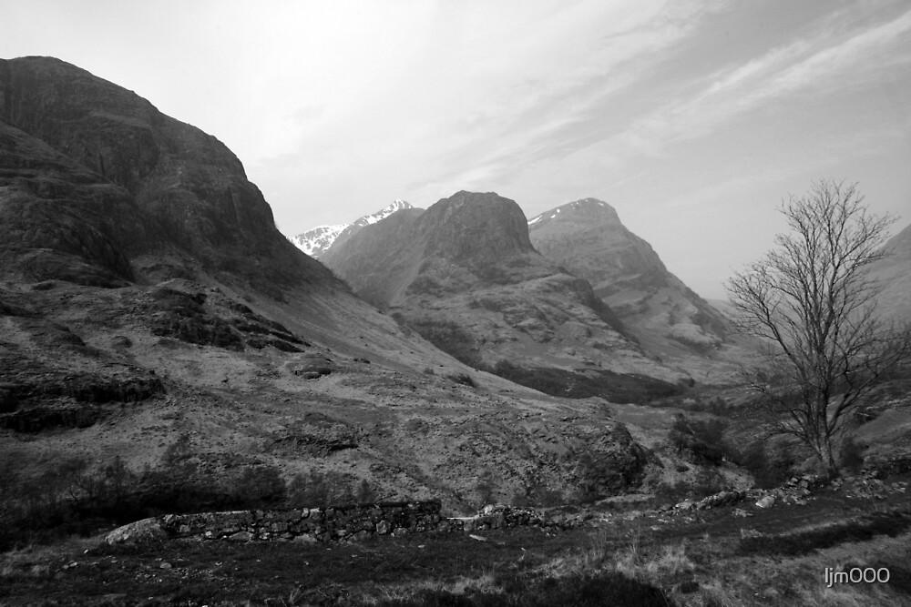 Three Sisters of Glencoe, Scotland, UK by ljm000