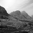 Three Sisters of Glencoe, Scotland, UK by ljm000