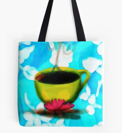 What my Coffee says to me -  October 19, 2012 Tote Bag