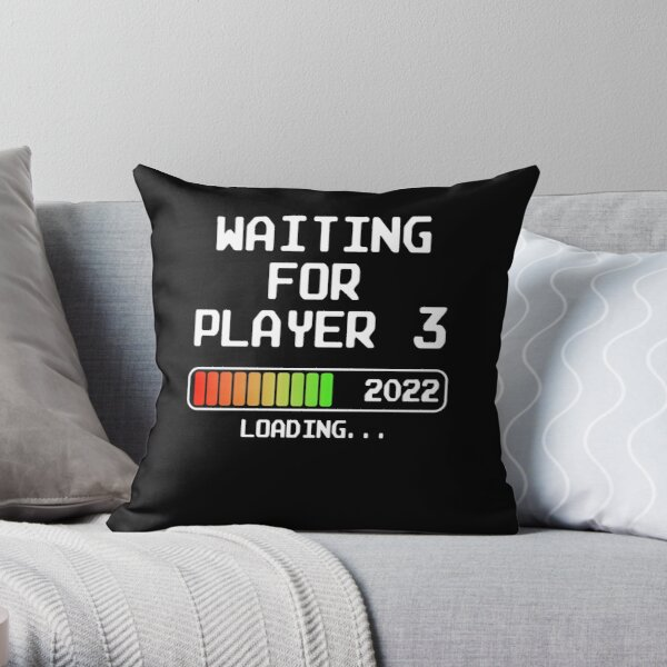 Expectant Dad-to-be 2022 loading Mom-to-be 2022 Throw Pillow