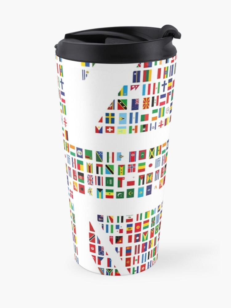 Alternate view of Union Hack Travel Mug