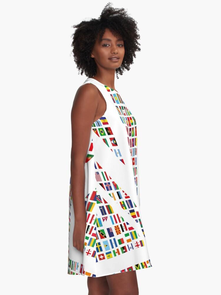 Alternate view of Union Hack A-Line Dress