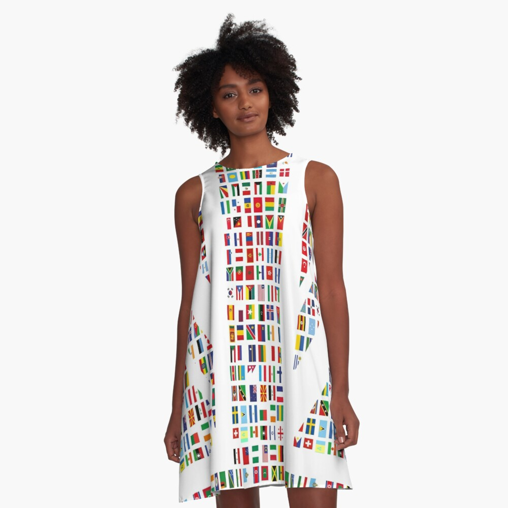 Union Hack A-Line Dress