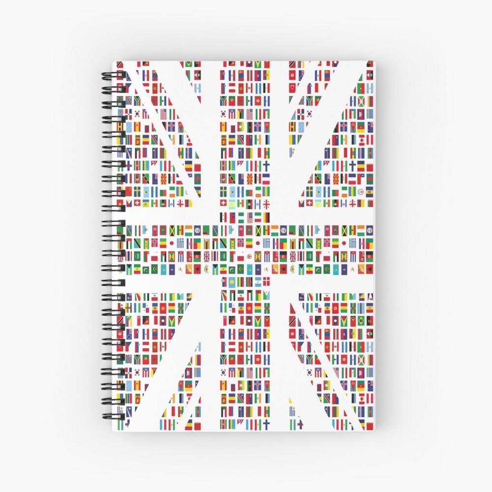 Union Hack Spiral Notebook