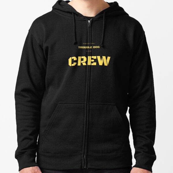 Trouble Dog Crew T-shirt Zipped Hoodie