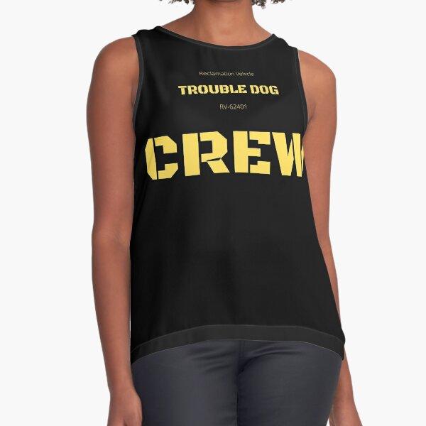 Trouble Dog Crew T-shirt Sleeveless Top