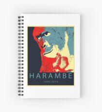 Harambe Gorilla Spiral Notebook