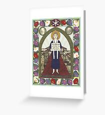 Dorothy Day Icon Greeting Card