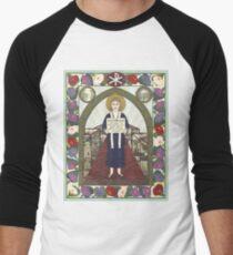 Dorothy Day Icon Men's Baseball ¾ T-Shirt