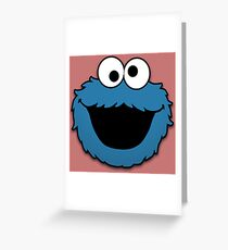 Cookie Monster (3) Greeting Card