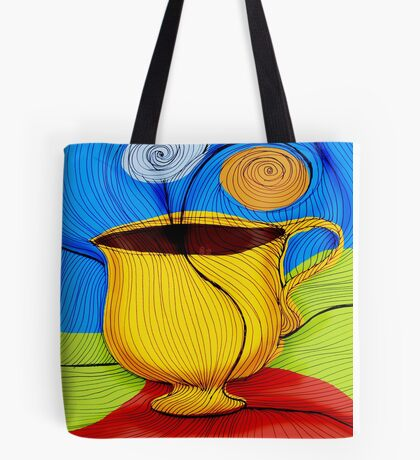 What my Coffee says to me -  September 30, 2012 Tote Bag
