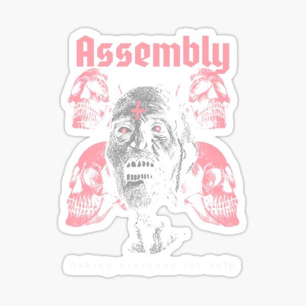 Assembly  Sticker