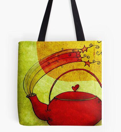 What my #Tea says to me January 23, 2013 Tote Bag