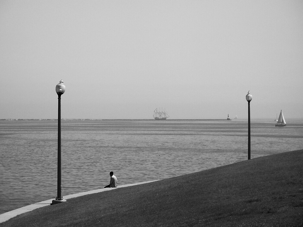 Alone With His Thoughts by UrsulaRodgers