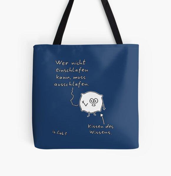 Kissen islieb Comic Allover-Print Tote Bag