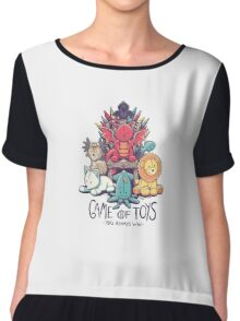 Game of Toys Chiffon Top