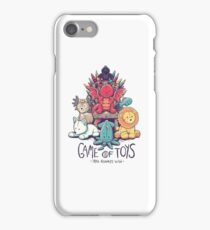 Game of Toys iPhone Case/Skin