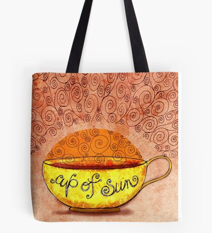 What my #Coffee says to me January 4, 2013 Tote Bag