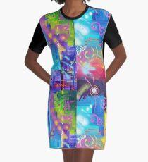 Lebhafte Gedanken 2 T-Shirt Kleid