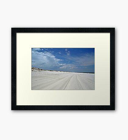 Endless Summer - Island Beach State Park - NJ - USA Framed Print