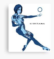Cortana meet Cortana Canvas Print