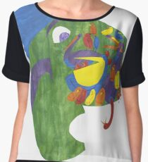 On whose nose, most birds of the air could repose. Chiffon Top