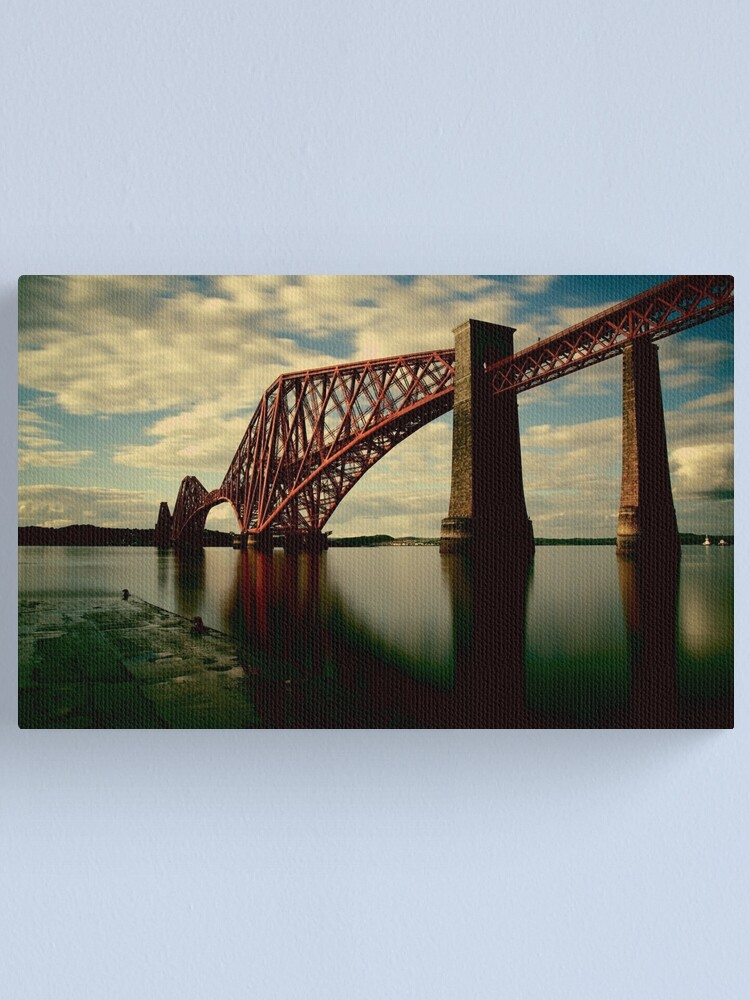Alternate view of Forth Bridge Canvas Print