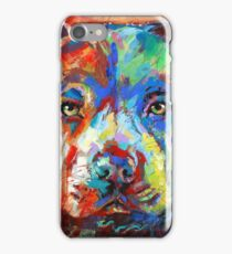 Stafforshire Bull Terrier iPhone Case/Skin
