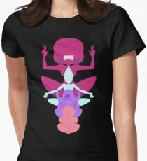 Gem Pole Womens Fitted T-Shirt