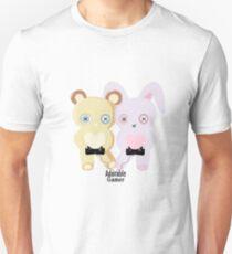Adorable Gamer ~ Teddy & Bunny Slim Fit T-Shirt