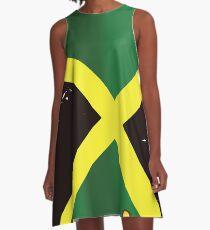 Jamaica vintage travel poster A-Line Dress