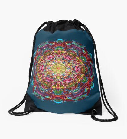 Amulet of life Drawstring Bag