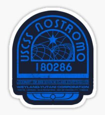 Nostromo Logo - Alien - Prometheus Sticker