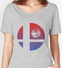 Super Smash Bros - Ness Women's Relaxed Fit T-Shirt